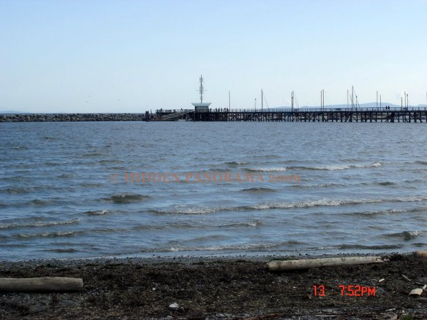 The Pier from Semiahmoo Bay