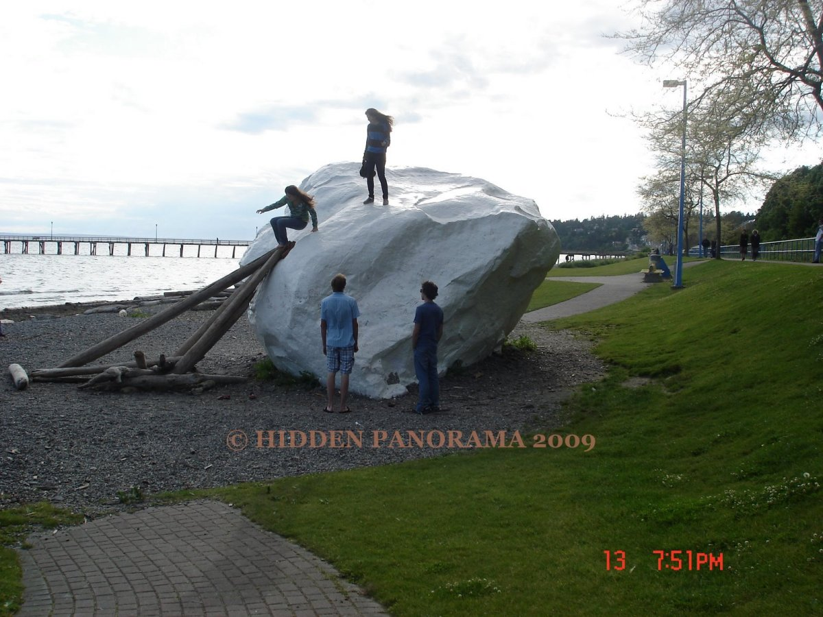White Rock In British Columbia ?