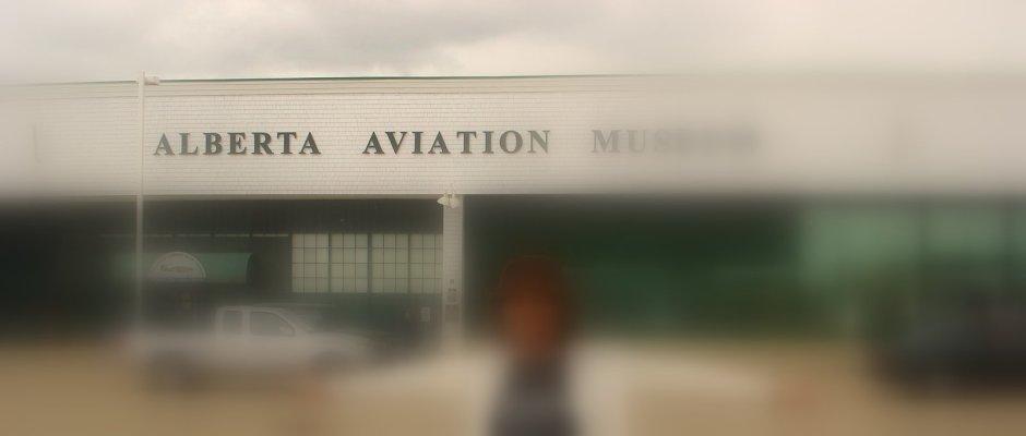 Myself Outside Alberta Aviation Museum 5