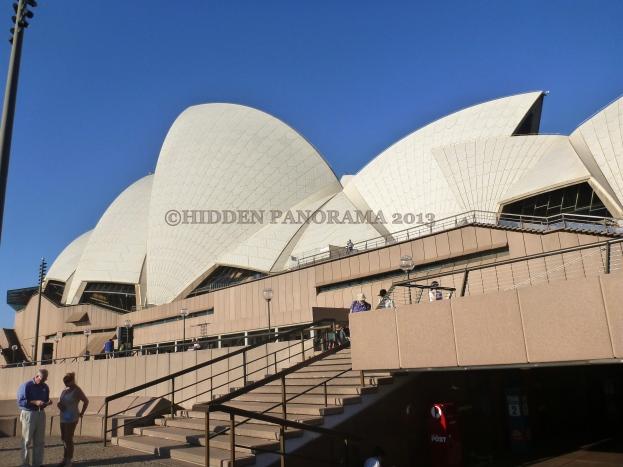 Serenading at Opera House