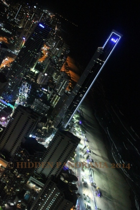 Climbing Skypoint At Q1 – 5th Tallest Residential Building In The World