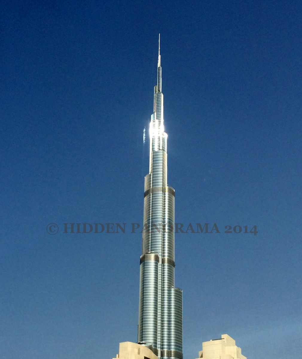Burj Khalifa - Tallest Building In The World And Surrounding Area