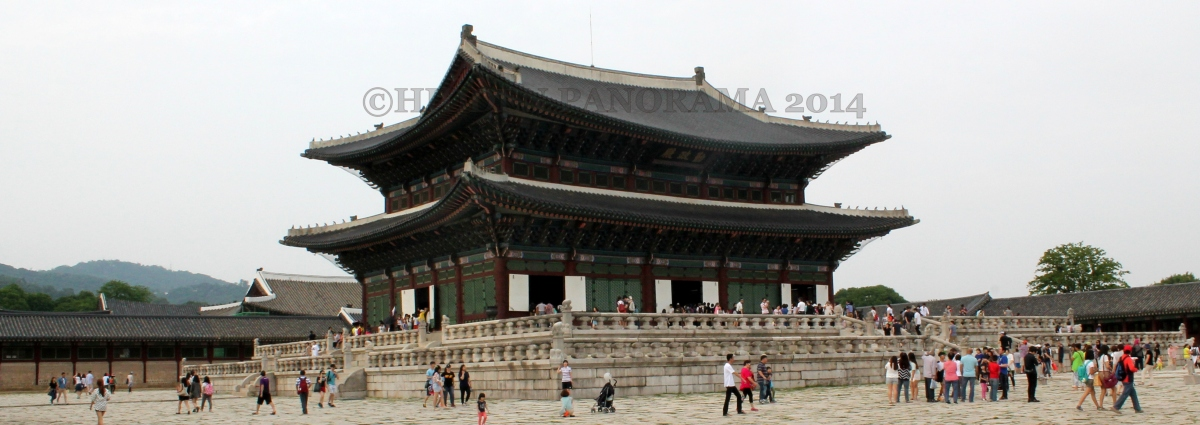 Gyeongbokgung (Palace Greatly Blessed By Heaven) - Back to the Past Adventure - Part 1