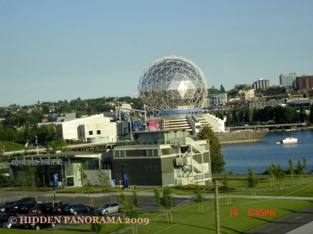 Telus World of Science in Vancouver Downtown at Quebec St