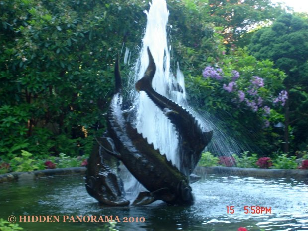 Sturgeon Fountain