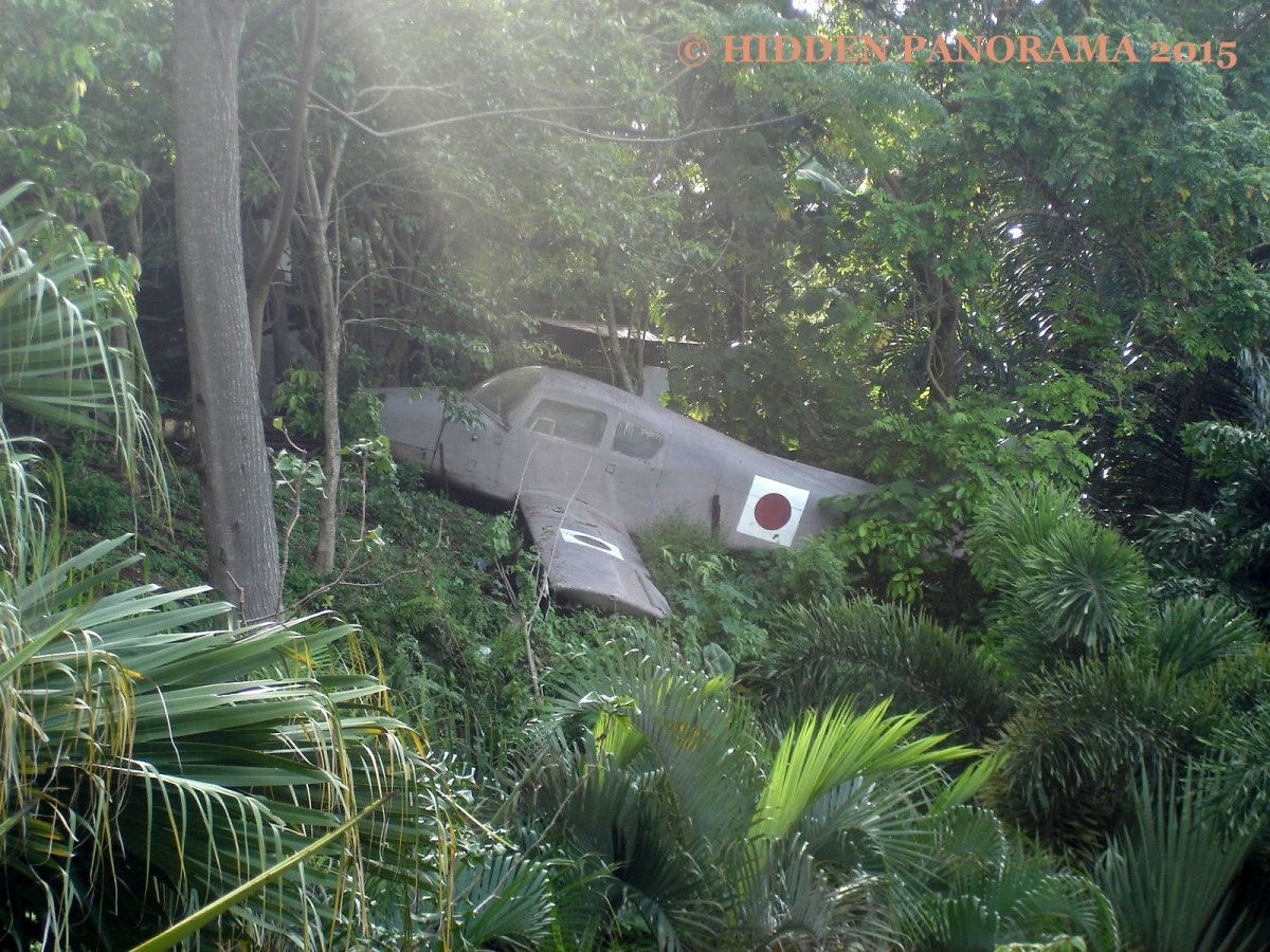 Home : Crashed Japanese Plane At Jack's Ridge