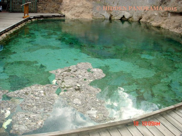 Hot Spring Pool at Cave and Basin