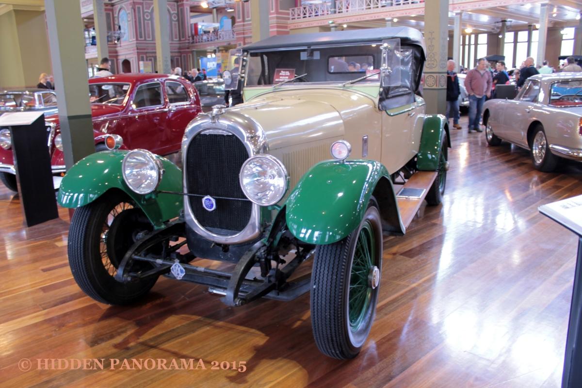 Theme : Classic Car - 1923 Chenard et Walcker 3L Roadster
