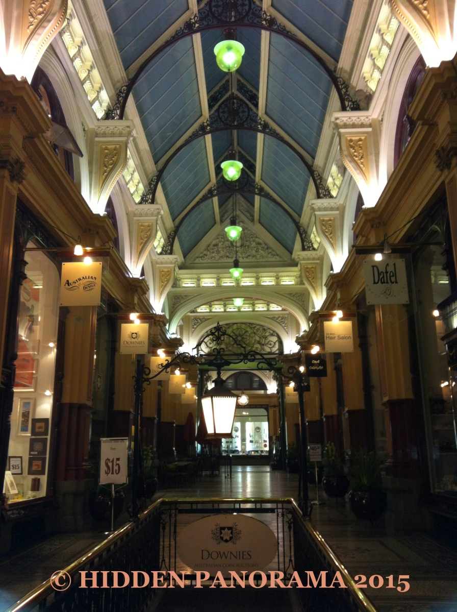 Interior : The Block Arcade - Elizabeth St Interior Walkway
