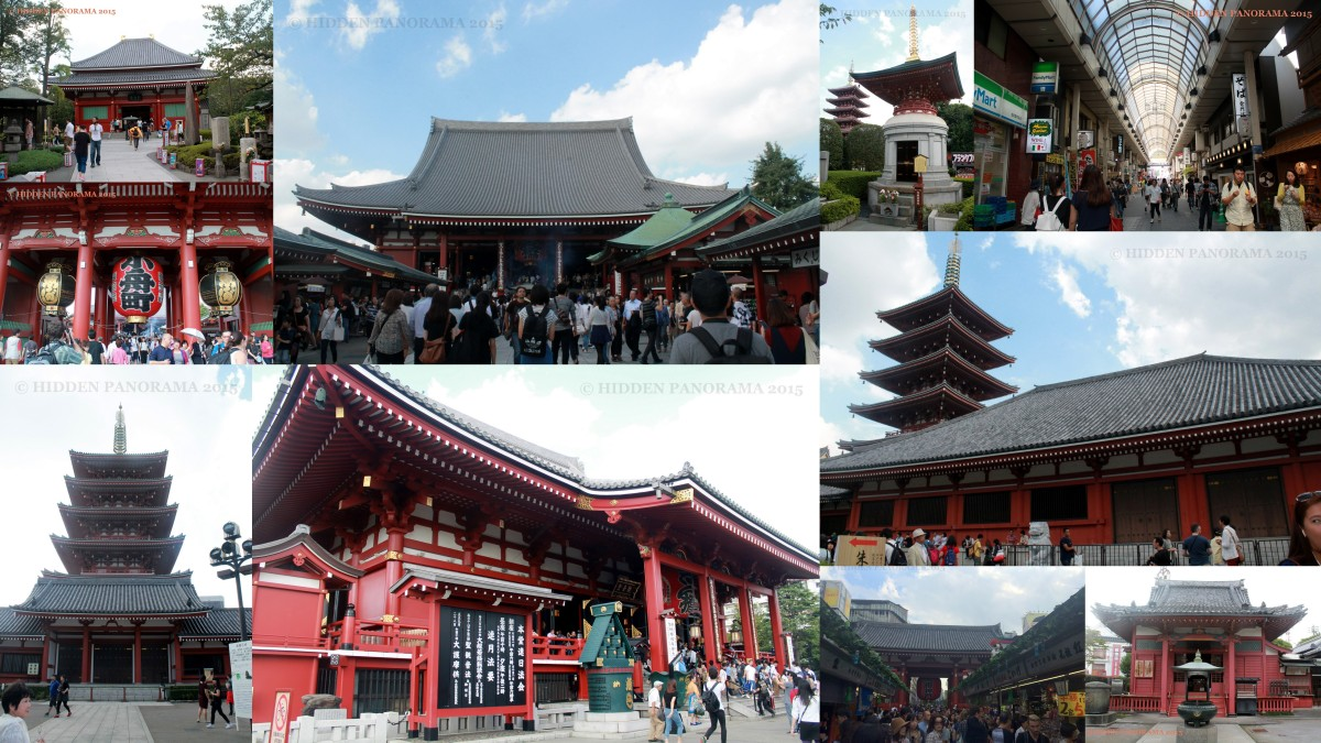 Asakusa - Home of Famous Sensoji Buddhist Temple