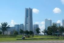 Enjoying the Open Space of Zuo-No-Hana Park