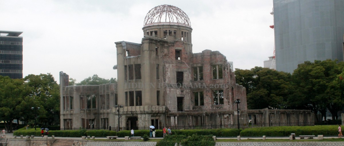A Bomb Dome - Symbol of 'Peace City' - Hiroshima City
