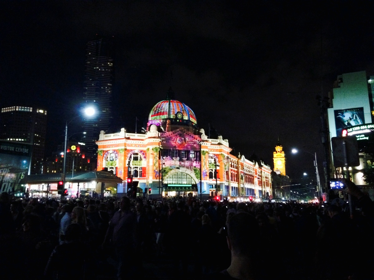 White Night - A Melbourne's Dreamy Night