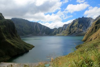 Trekking Mount Pinatubo - A Tragic Creation of Natural Attractions