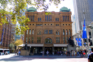The Classic Time in Queen Victoria Building (QVB)