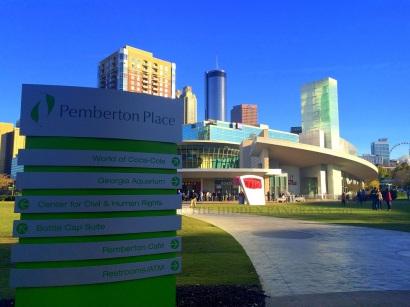 Strolling at Pemberton Place (Atlanta Walk Part 3)